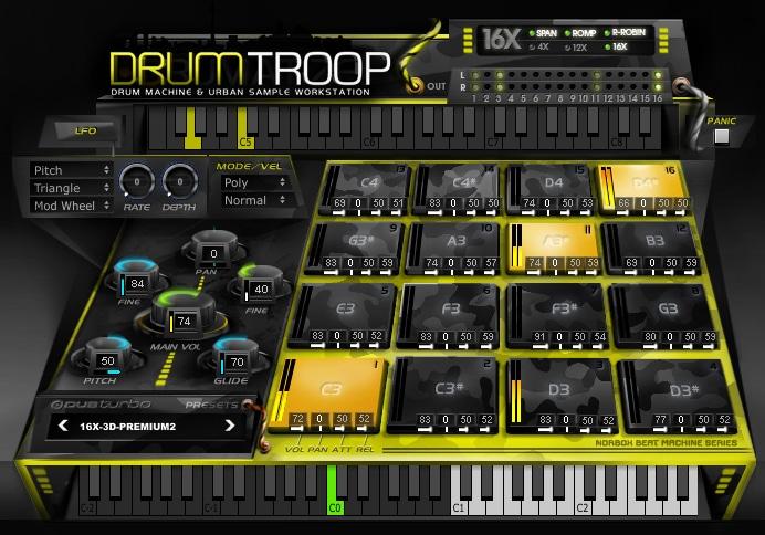 Dub Turbo DrumTroop